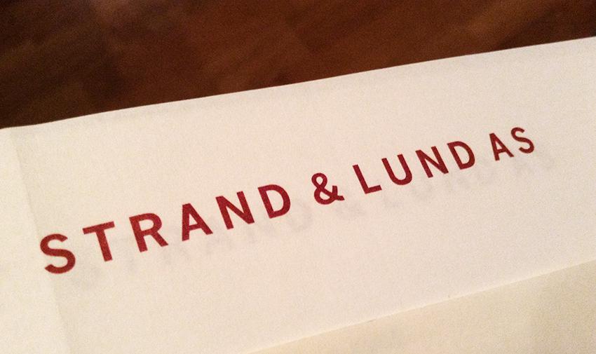 Strand & Lund – versjon 2.0