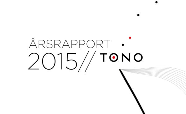 Årsrapport, TONO 2015